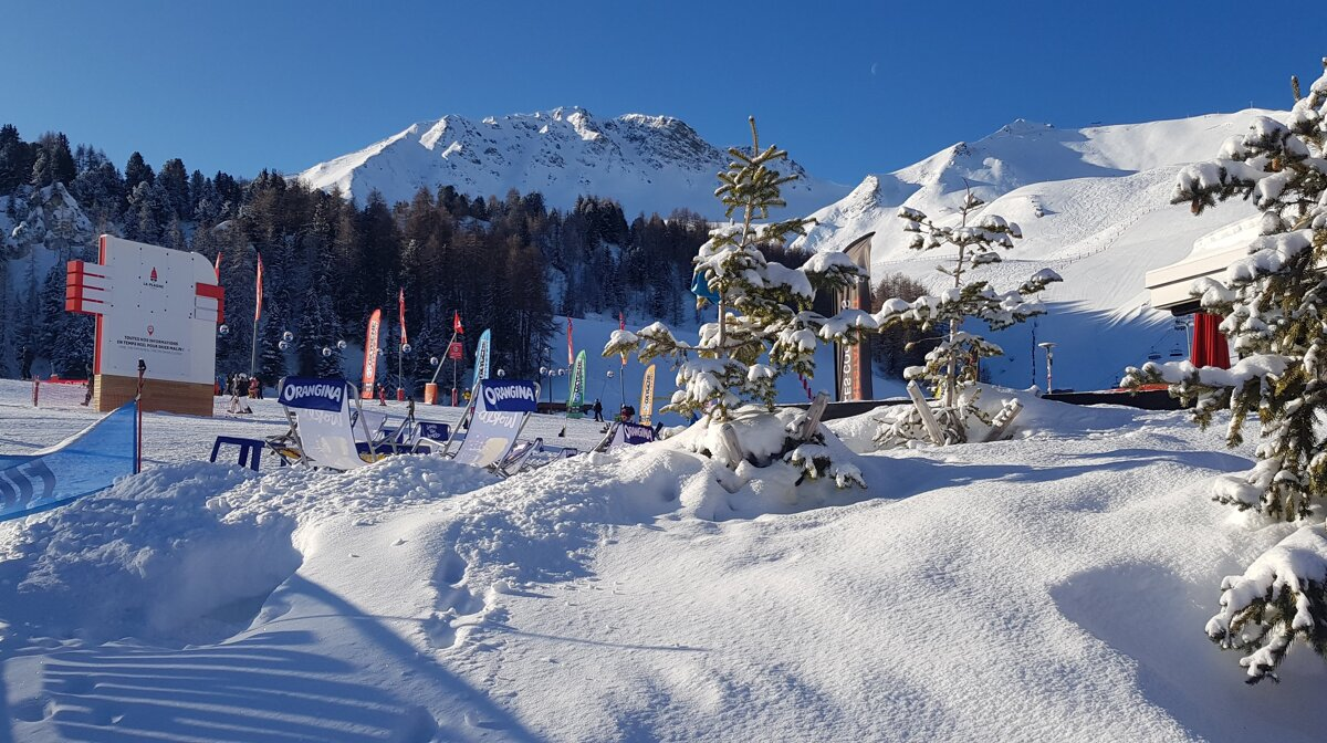 La Plagne Dump Alert - 18th January 2020