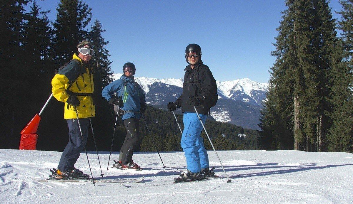 Route 4 – La Tania & Tree Line Skiing