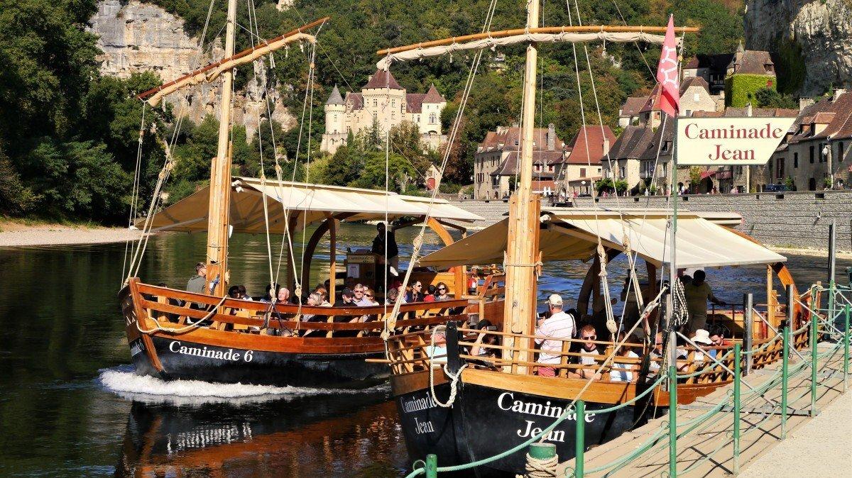 Boat Trips Dordogne