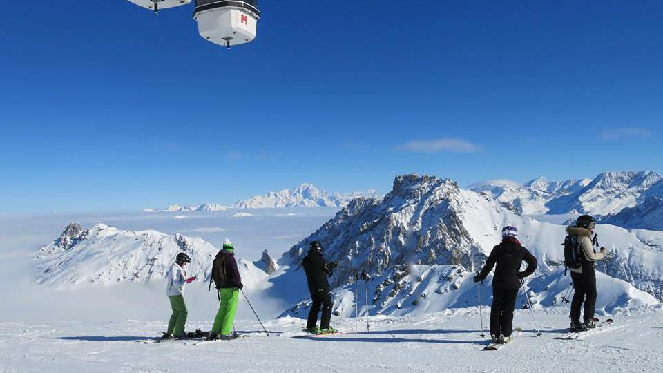 Ski Areas, Pistes & Parks Meribel