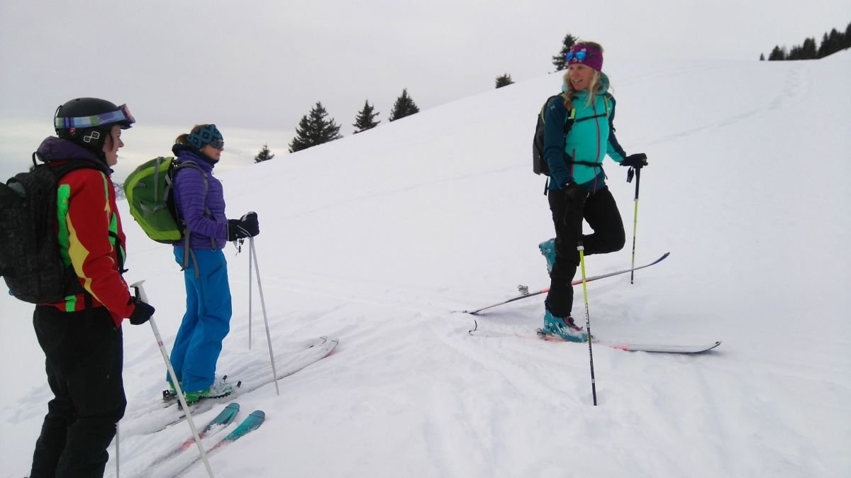 Ski touring in Les Houches