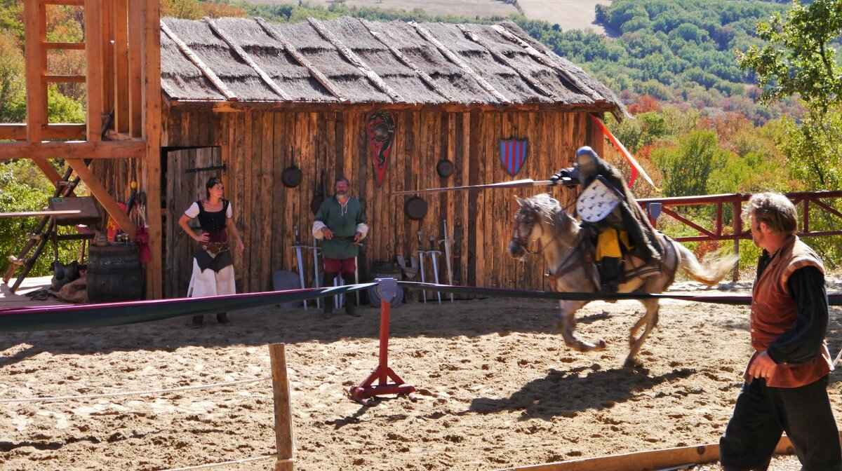 Let the jousting commence - a jousting match at durandal