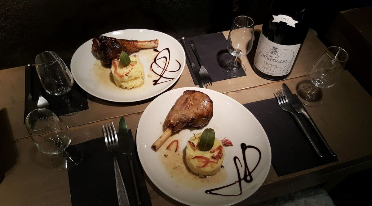 La Maison Corse Restaurant (Cantine & Epicerie Fine), Cannes style of cuisine