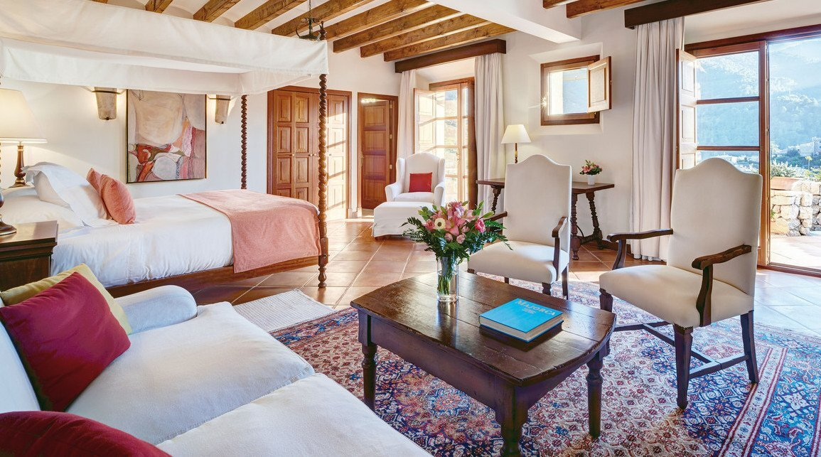 a picture of a hotel suite at La Residencia Luxury Hotel, Deia