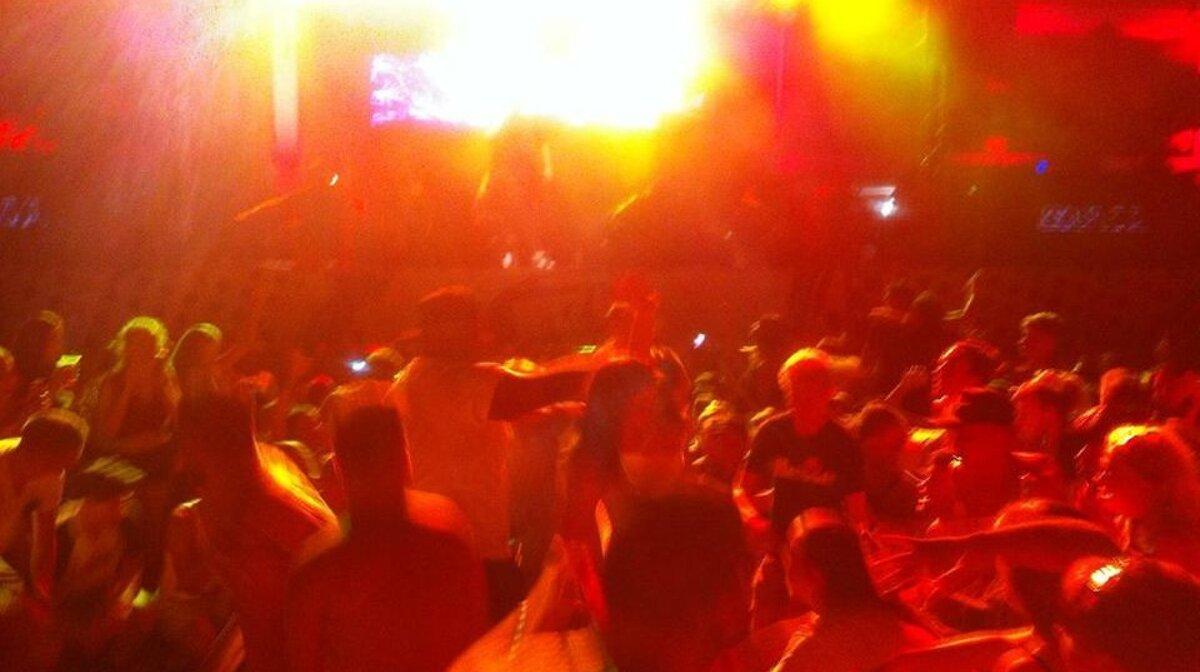 Sigma on stage at Ibiza Rocks in san antonio