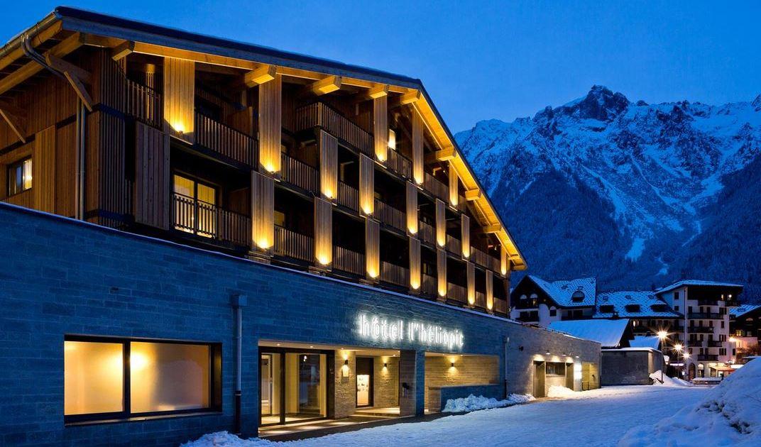 L'Heliopic Sweet & Spa Hotel, Chamonix exterior