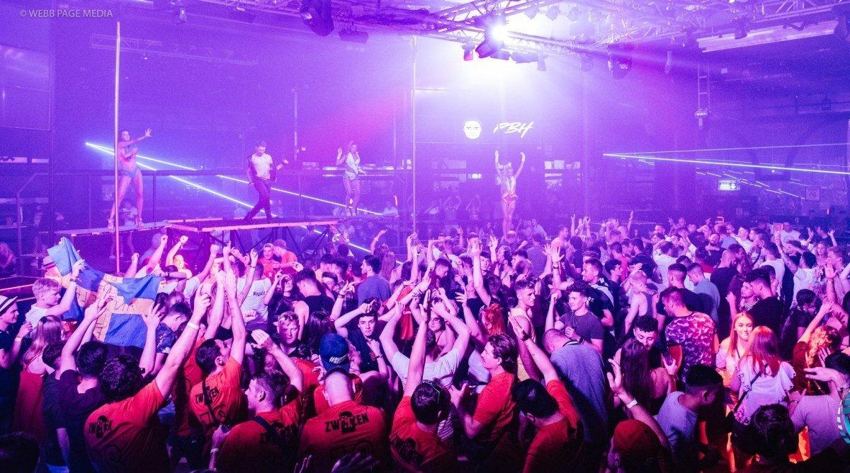BCM Planet Dance Nightclub, Magaluf interior
