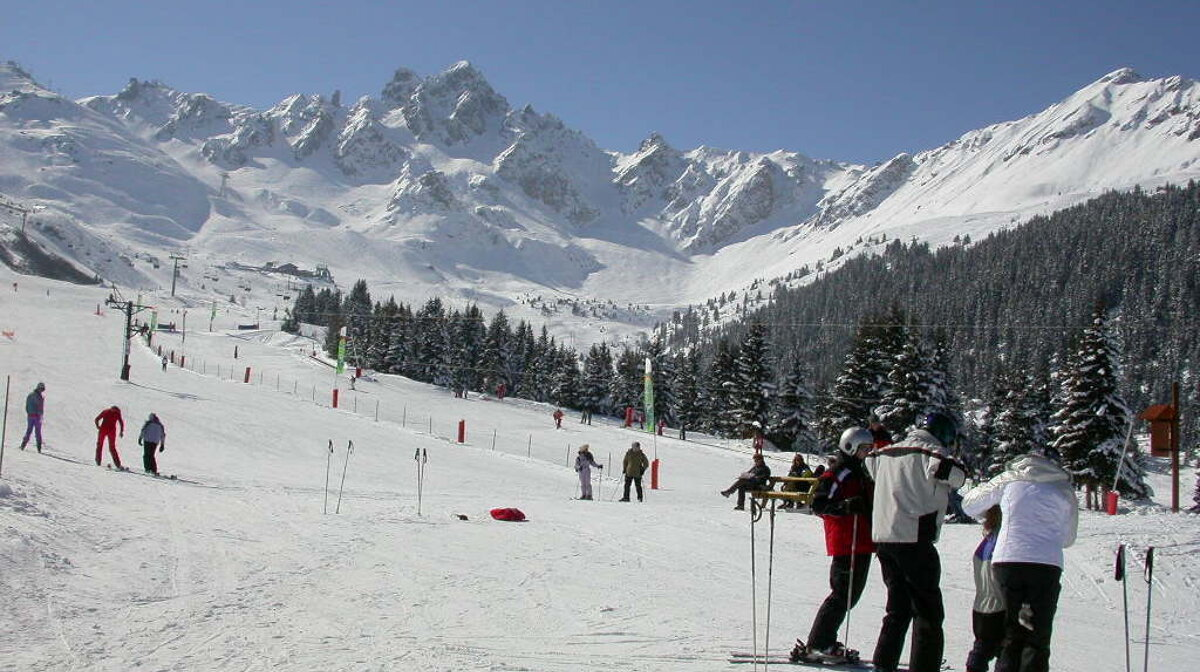 slopes in courchevel