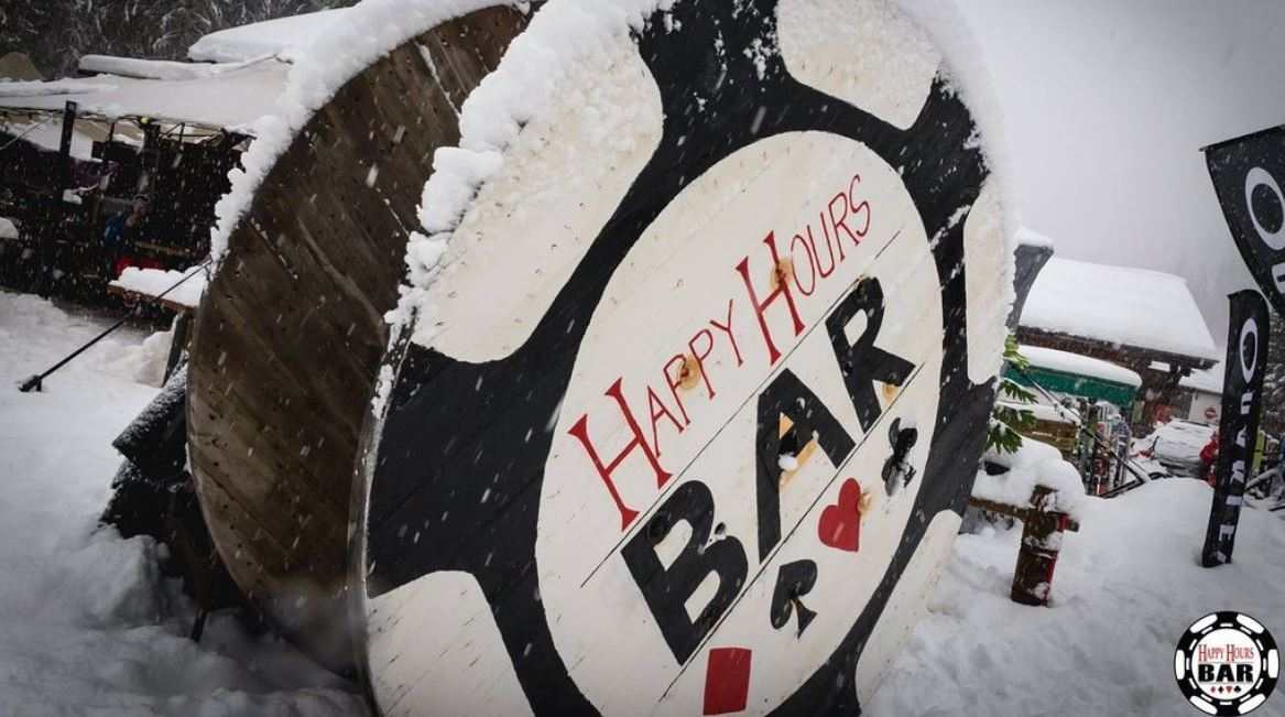 Happy Hours Bar, Ardent exterior