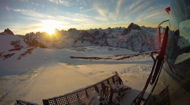 Piste Basher Ride, 2 Alpes