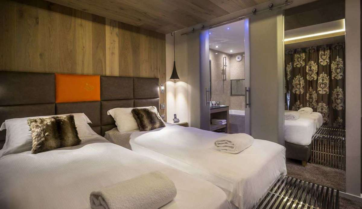 Top Hotels in Les Arcs for any budget double bedroom