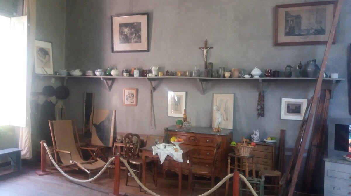 an artists studio