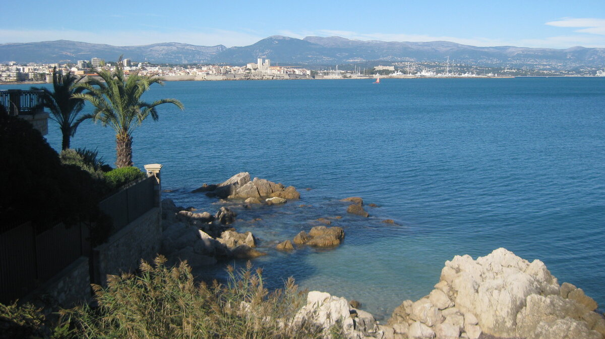 View from Cap d'Antibes