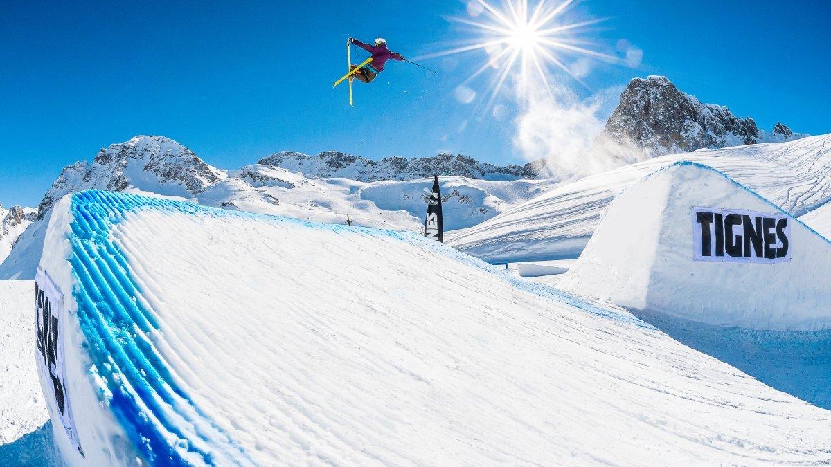 Snowparks Tignes