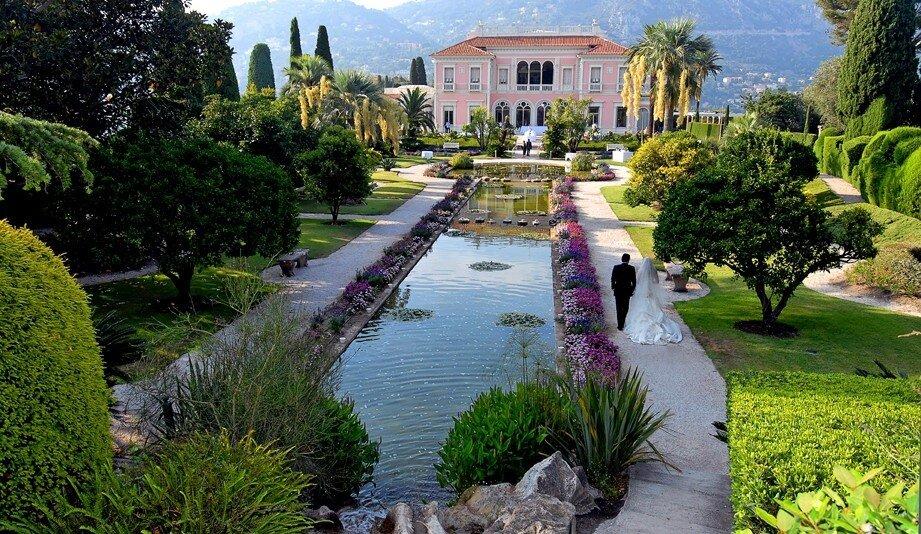 Wedding at Villa Ephrussi de Rothschild