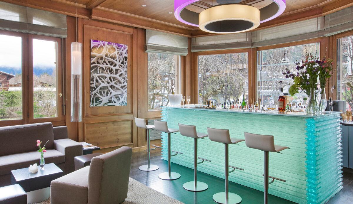 Quartz Bar, Chamonix centre bar