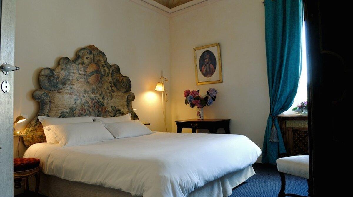A room in the hostellerie jerome in la turbie