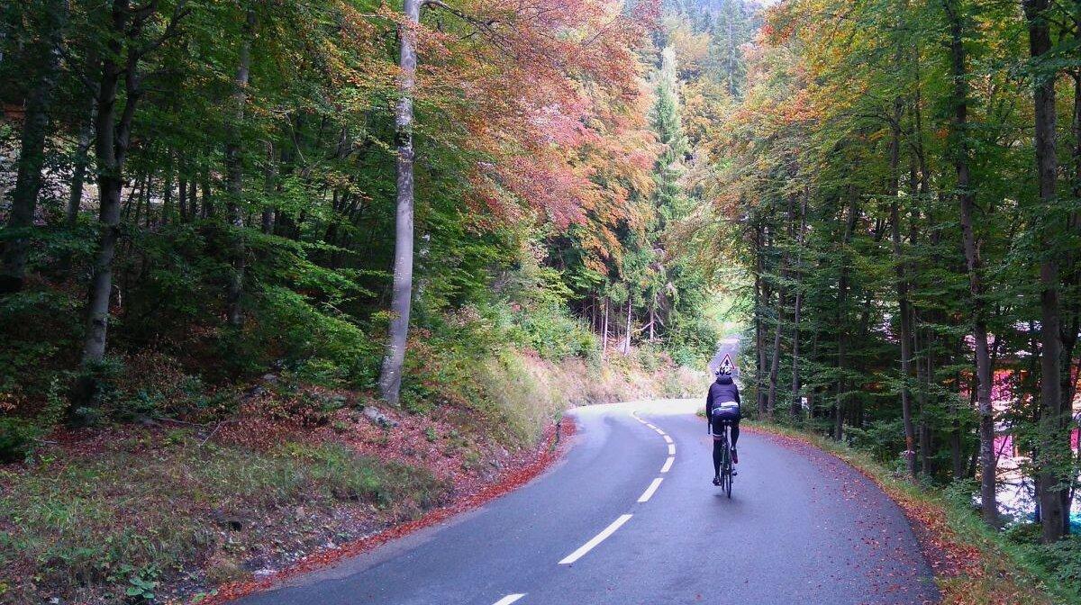 cycling near chamonix