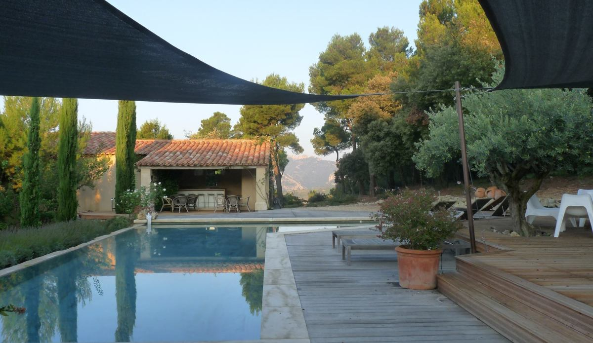 L'Aube Safran B&B, Le Barroux swimming pool