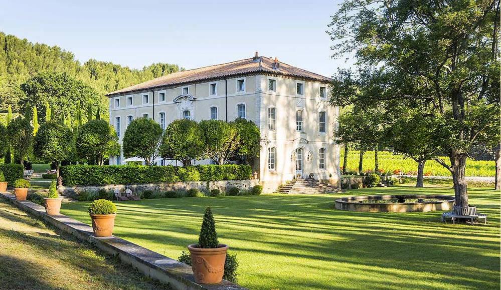 Classic French Chateaux Hotels in Provence exterior
