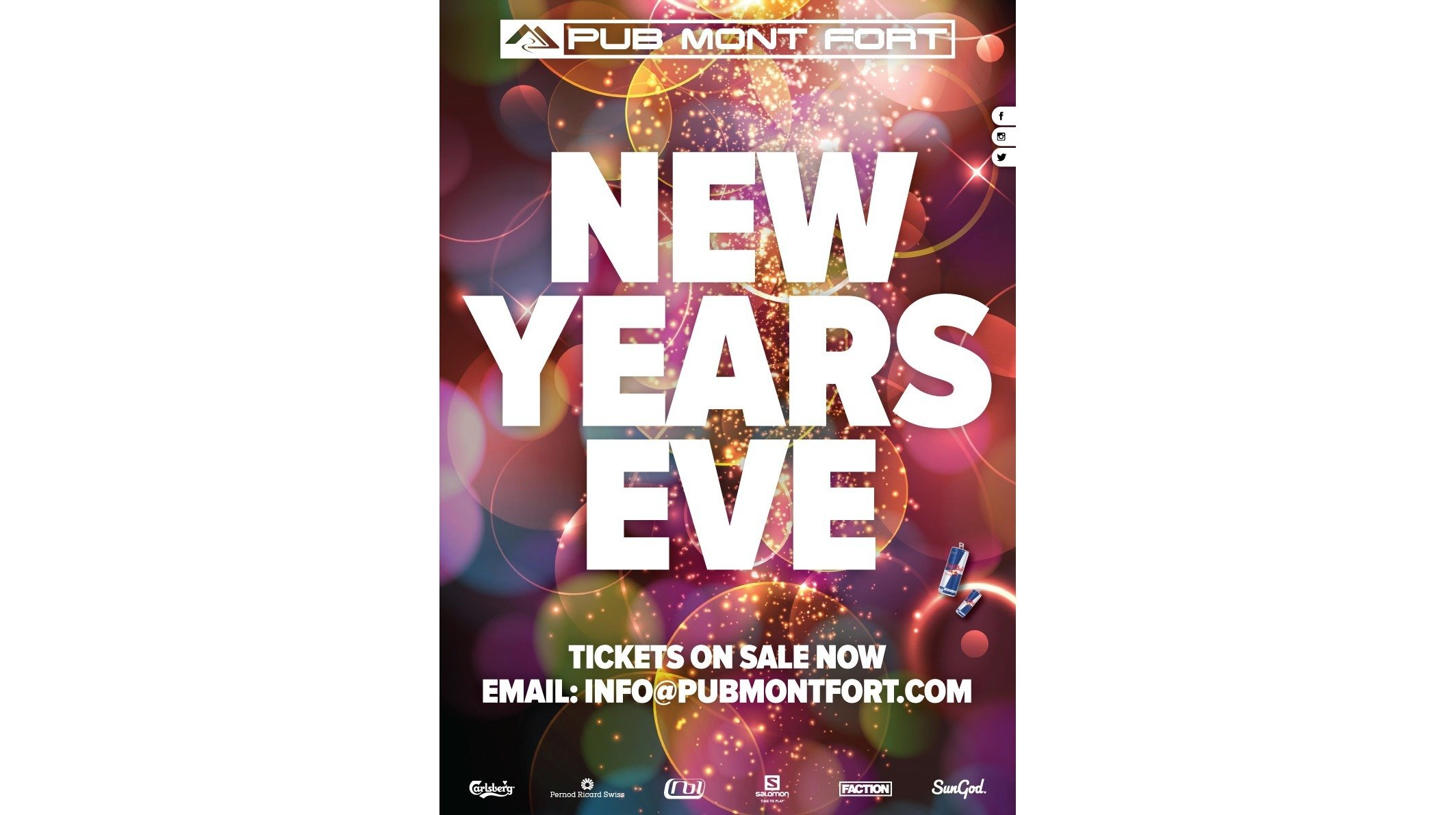 New Year's Eve at Pub Mont Fort, Verbier - Centre