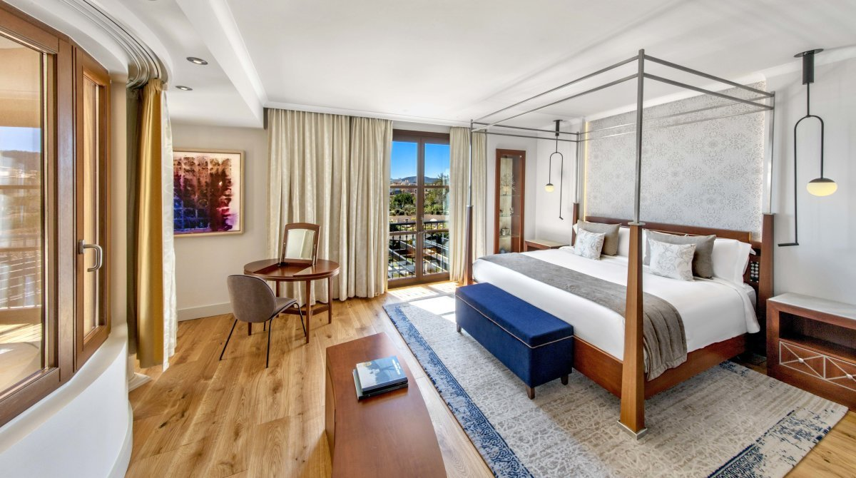 a picture of a hotel suite at St Regis Mardavall Mallorca Resort Hotel, Costa d'en Blanes