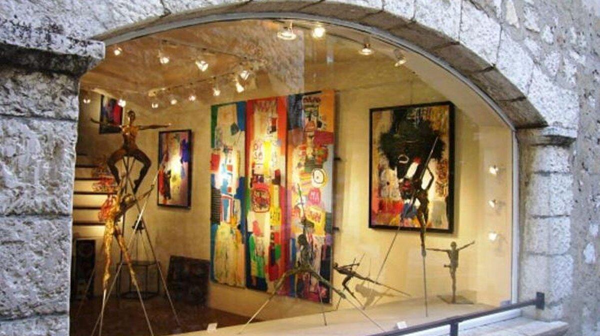 Saint Paul De Vence Art art seiller gallery, st-paul de vence | seeantibes