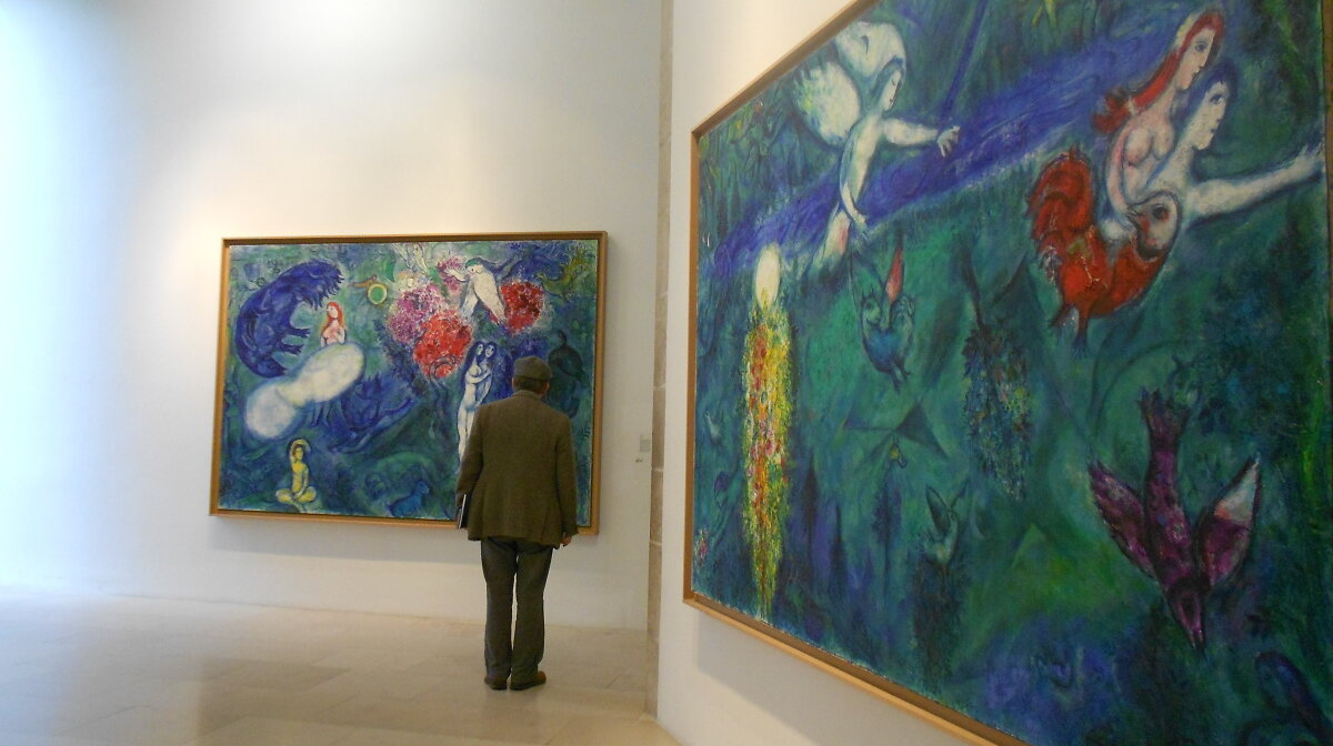 the marc chagall museum in Nice