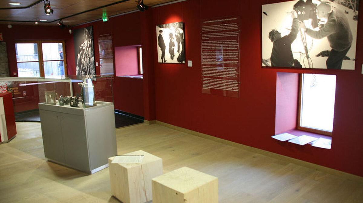 inside a cultural exhibit