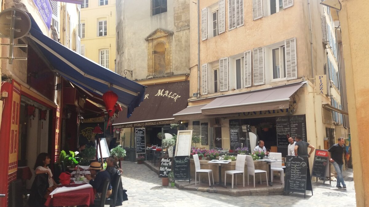cafes in aix