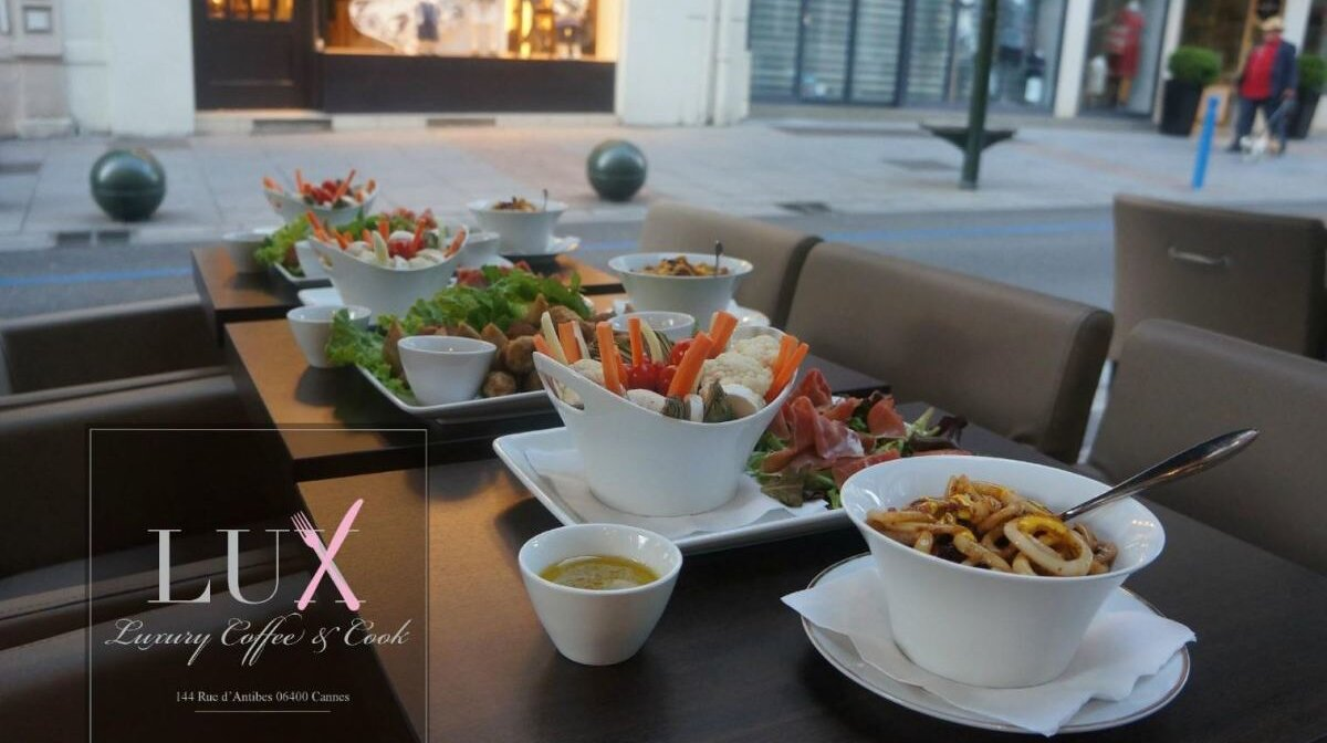 Renovation Cuisine Cannes lux cafe, cannes | seecannes
