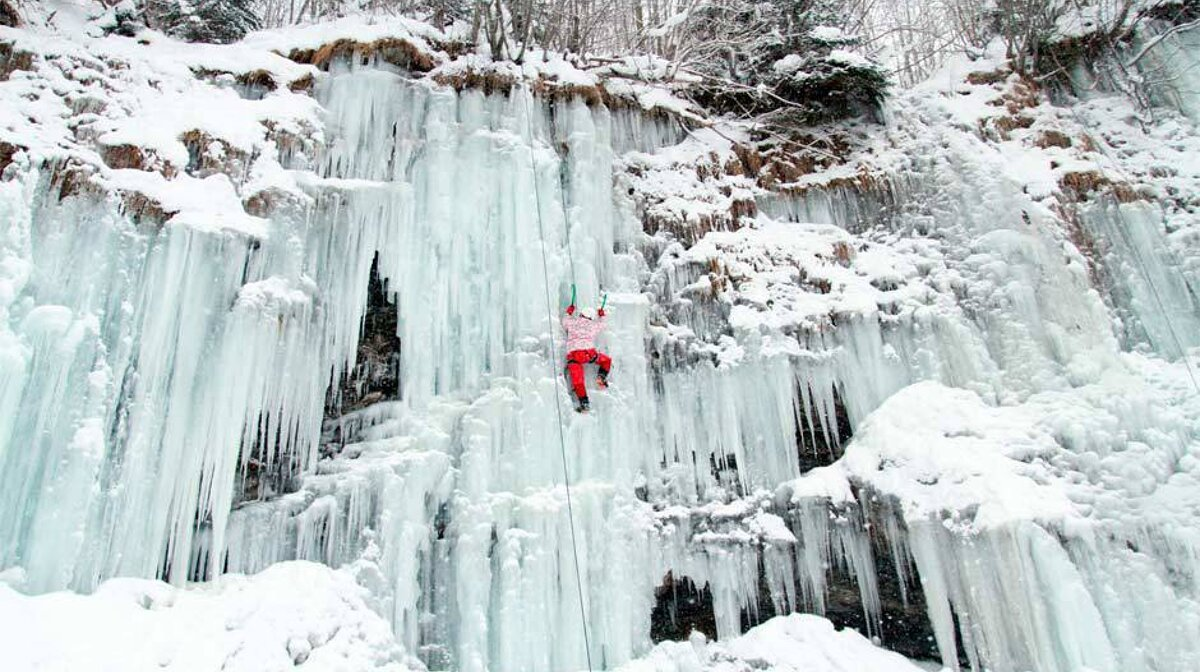 ice climbgin