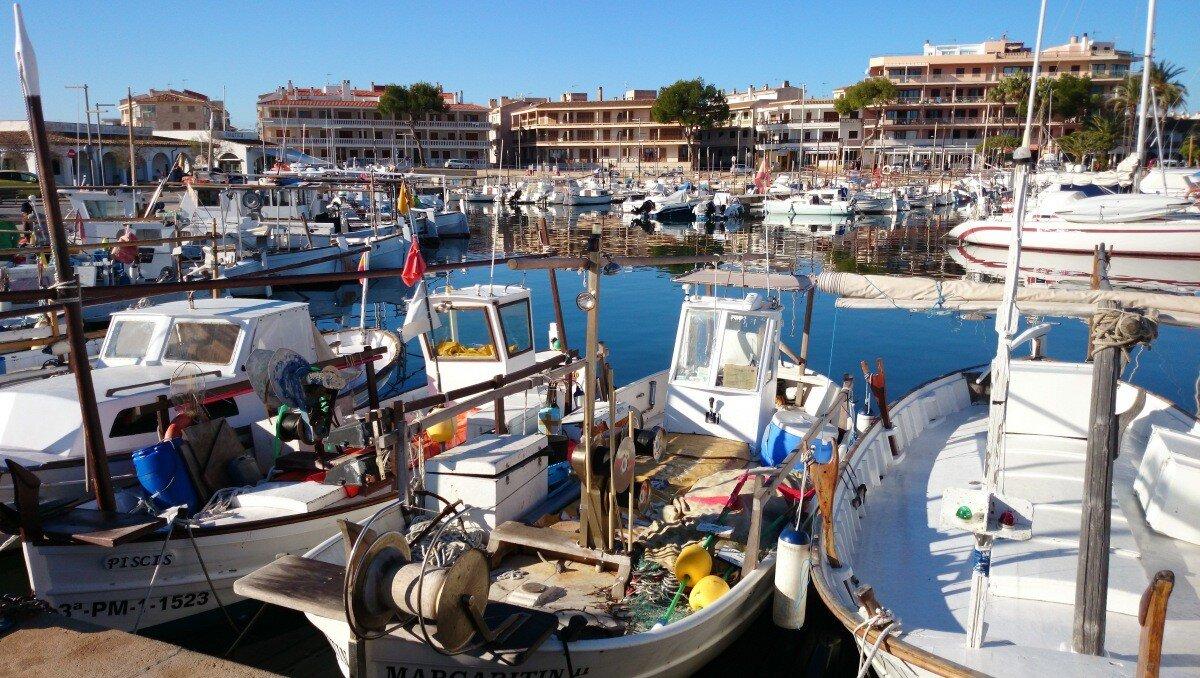 Puerto de la Colonia Sant Jordi Marina, Ses Salines