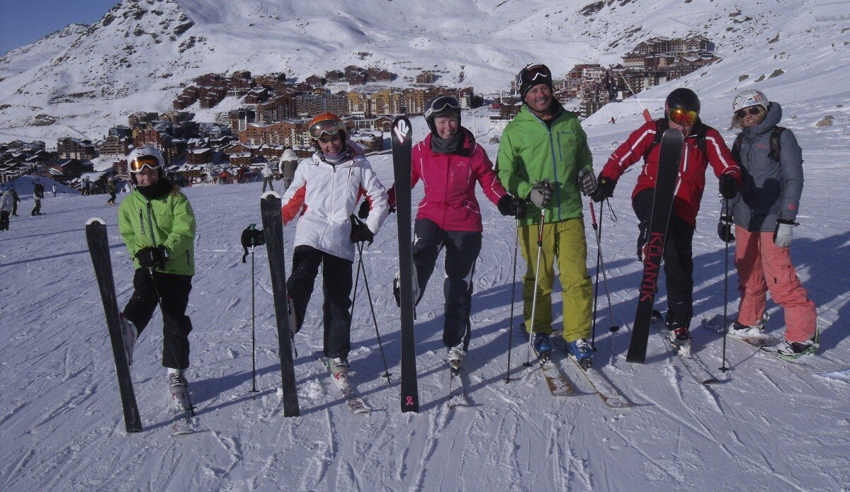 Beginners Areas Val Thorens