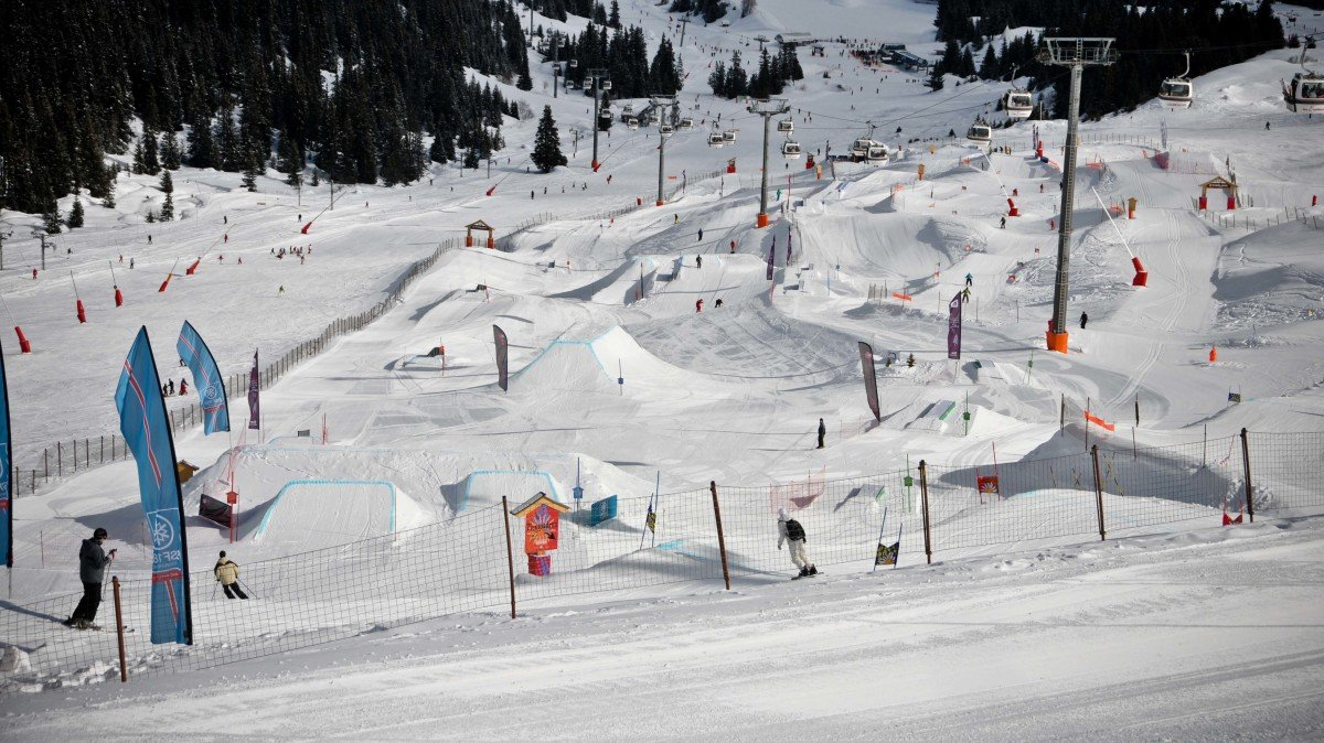 Snowparks Courchevel