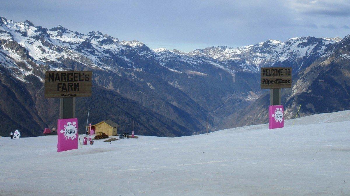 Alpe d'Huez unveils new 'Marcels Farm' ski zone
