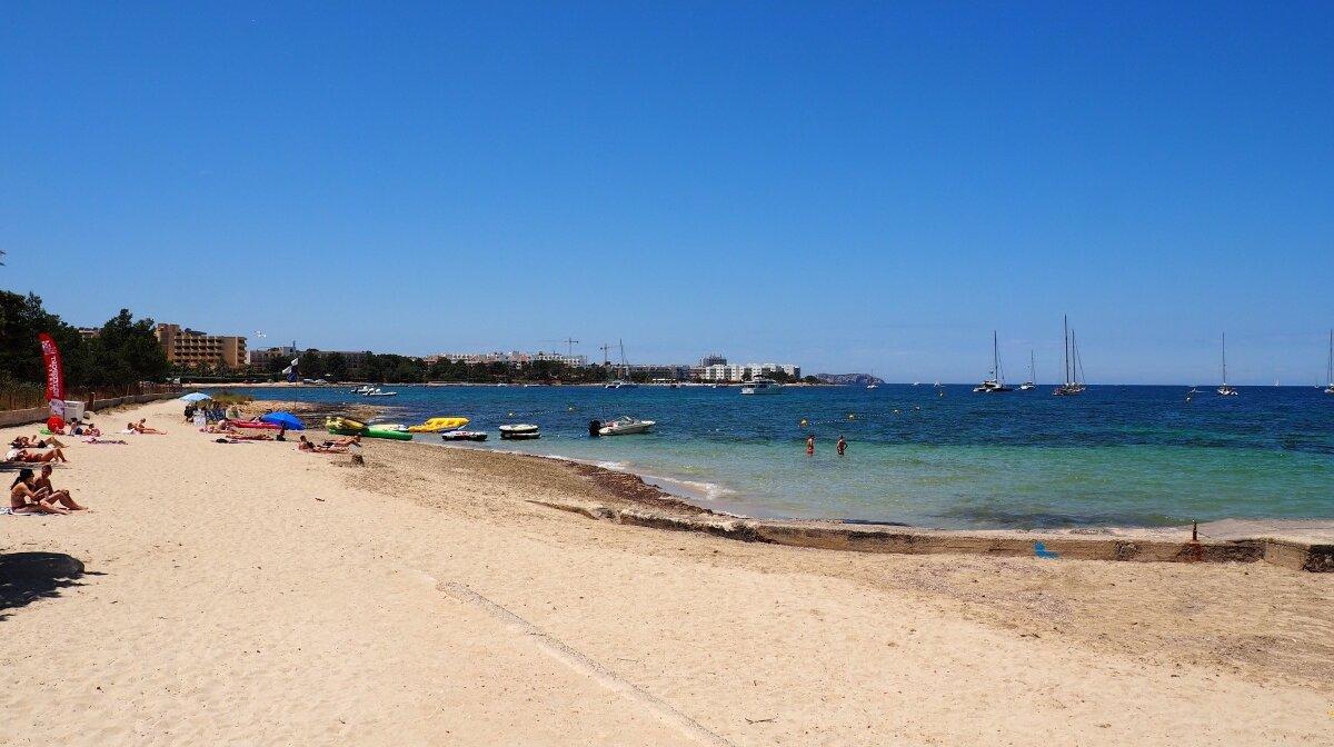 s'estanyol beach near san antonio ibiza
