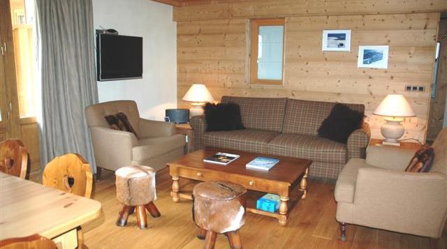 Aquila 202 Apartment, Val d'Isere - Centre living-room