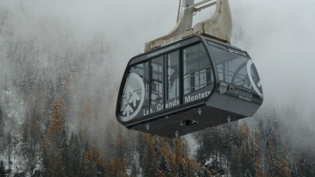 Les Grands Montets Ski Lifts, Argentiere