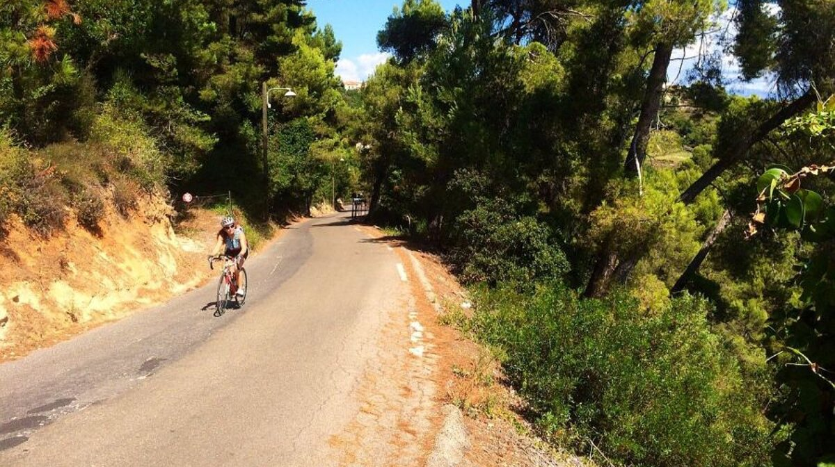 Aspremont Tourette Falicon Cycle Route Seenice Com