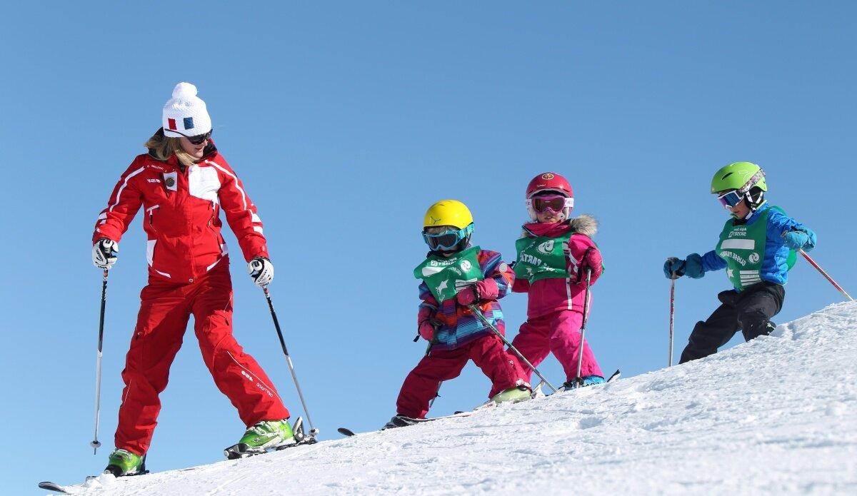 Ski Lessons Les Arcs