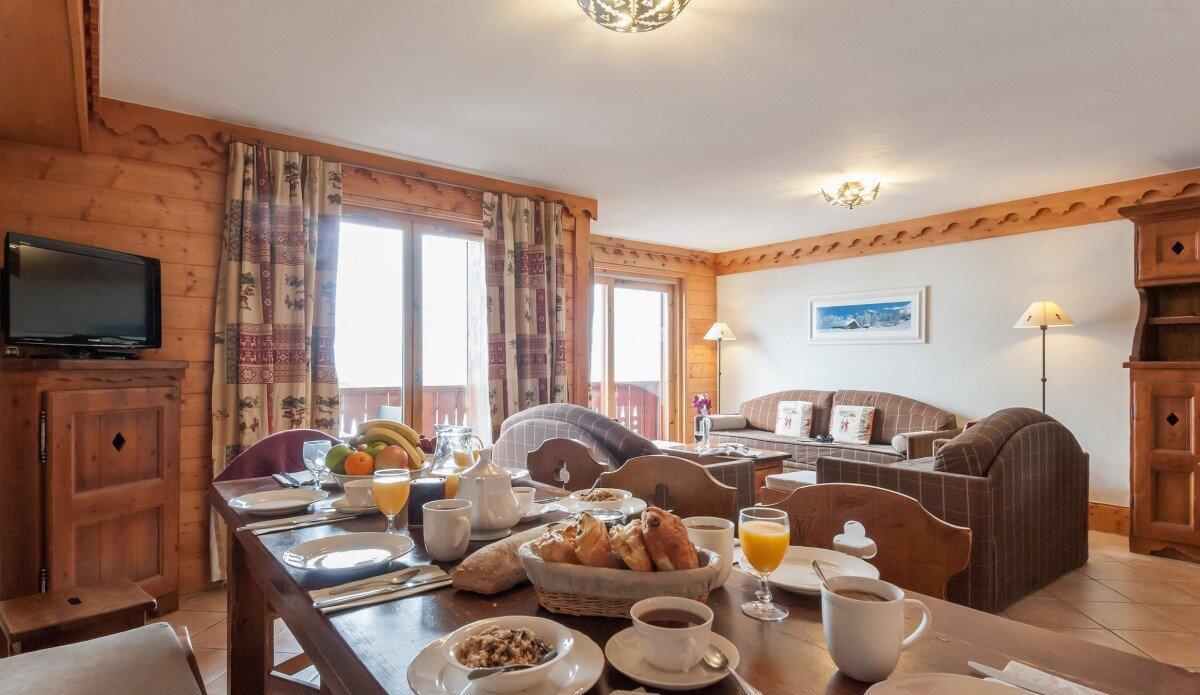 Les Fermes de Meribel Premium Residence - 3 Bedroom ...