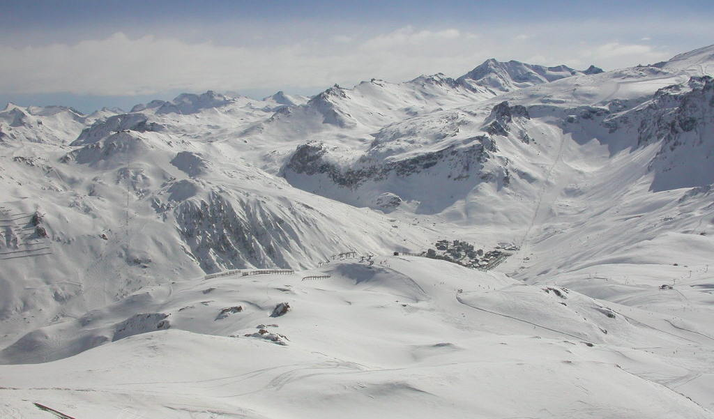 Ski Areas, Pistes & Parks Val d'Isere