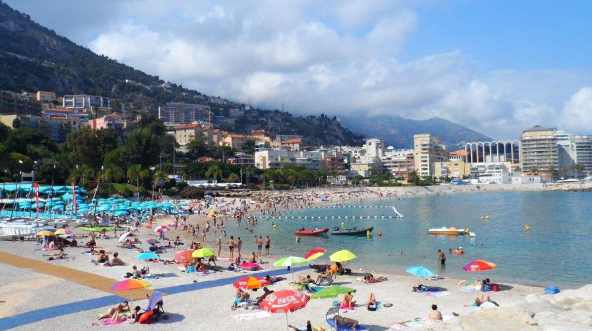 Club Nautique De Nice plage marquet beach, cap d'ail   seenice