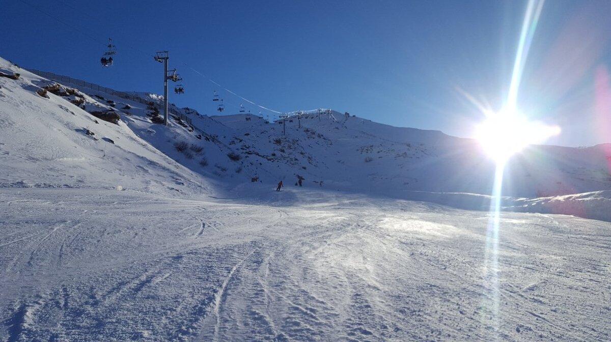 ski area near Avoriaz