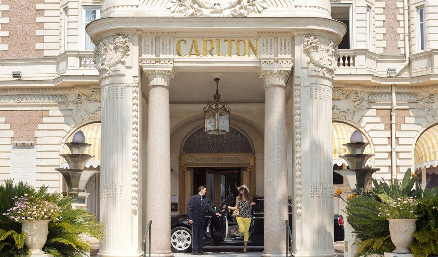 Intercontinental Carlton Cannes Hotel exterior