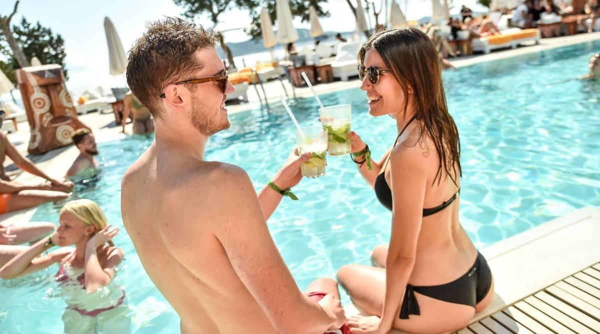 Fun for two in Ibiza