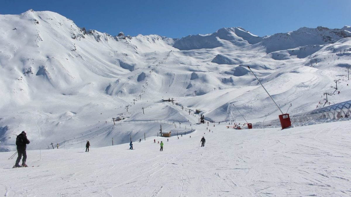 Beginners Areas Val d'Isere