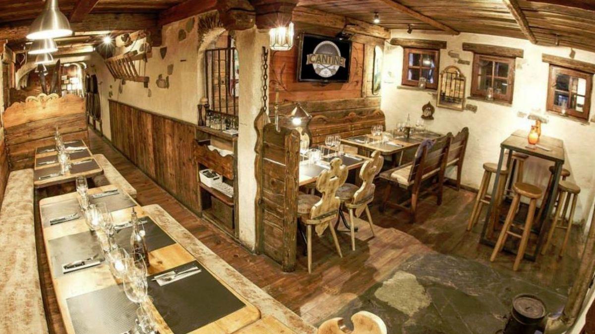 La Cantine Plagne 1800 Restaurant, La Plagne 1800 interior