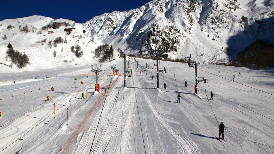 beginner ski area in chamonix